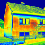 heat map of energy efficiency in a home