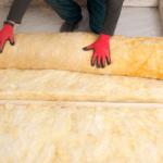 installing insulation