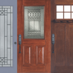 various window options on entry doors